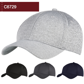 Introducing the C6729 Interlock Polyester 6 Panel cap.