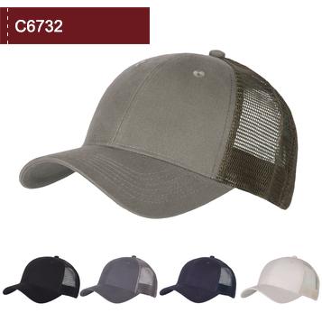 C6732 6 Panel Classic Trucker Cap